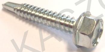 Wkręty samow. z łb. 6-kątnym DIN 7504 K