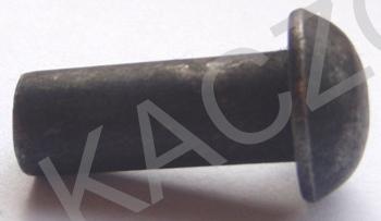 Nity z łbem kulistym DIN 660 bez pokrycia